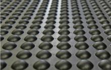 Rubber-Cal Bubble-Top Rubber Anti-Fatigue Mat