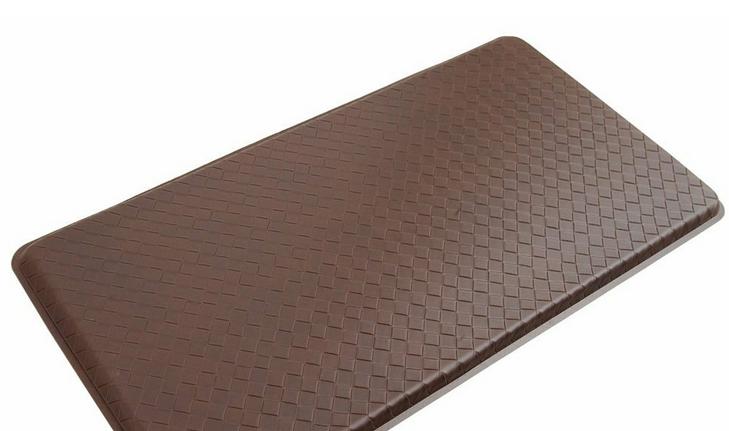 GelPro Basketweave Comfort Floor Standing Desk Mat